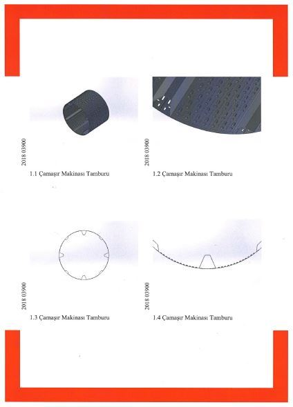 WASHER EXTRACTOR DRUM – INDUSTRIAL DESIGN 2018 03900 – Page 3
