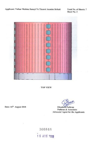 WASHING MACHINE DRUM – INDIA CERTIFICATE OF REGISTRATION OF DESIGN – Page 4