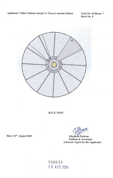 WASHING MACHINE DRUM – INDIA CERTIFICATE OF REGISTRATION OF DESIGN – Page 5