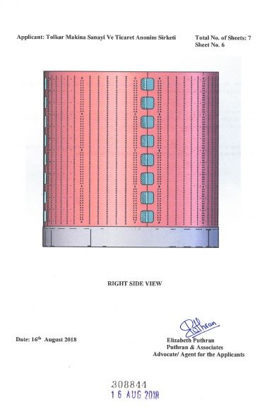 WASHING MACHINE DRUM – INDIA CERTIFICATE OF REGISTRATION OF DESIGN – Page 7
